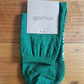 GORMAN Green Sparkle Socks