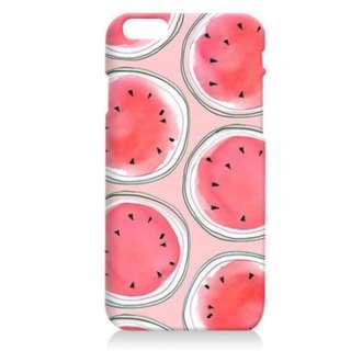 手機殼 西瓜 鋼化玻璃膜 保護貼 軟殼 Iphone 6 6s Plus 5.5吋 Apple 蘋果