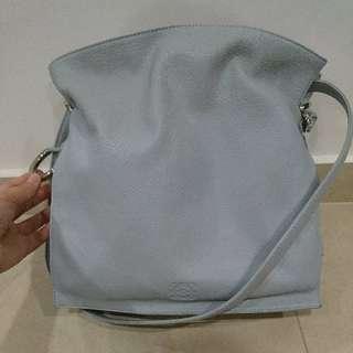 Authentic Rare Genuine Leather Loewe Bolso Flamenco Handbag