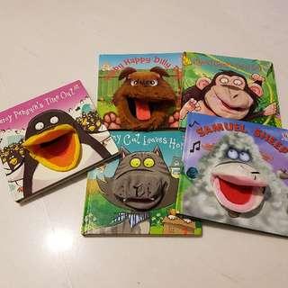 Children Hand Puppet Books