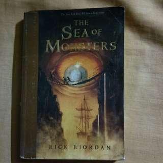 The Sea of Monsters - Rick Riordan