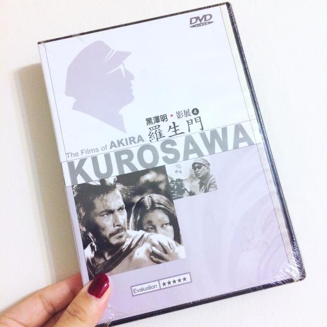 知名電影 羅生門 黑澤明 影展 DVD CD