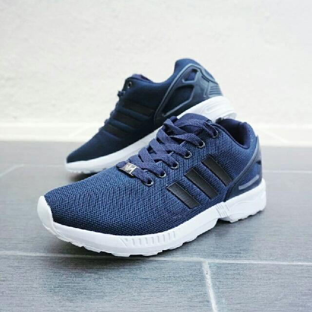 2cb0fde68c0db ... adidas flux navy blue