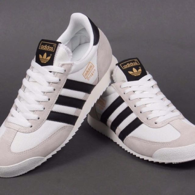 a1f4f369c995 adidas S81909 Originals Dragon Vintage Sneakers Shoes White Beige ...