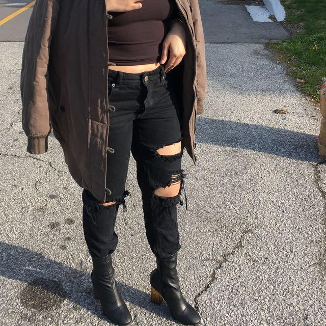AE Tomgirl/ Boyfriend Jeans