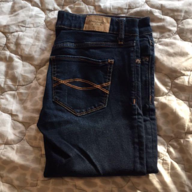 A&F jeans waist 26