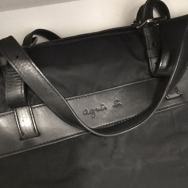 Agnes B laptop bag