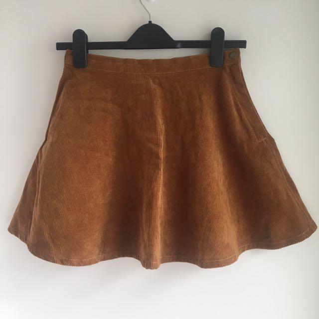 American Apparel Jeans circle skirt