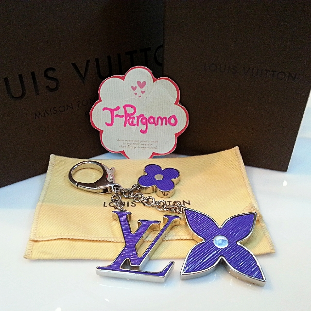 Authentic Louis Vuitton Fleur D'Epi Bag Charm SHW  {{ Only For Sale }} *** No Trade *** {{ Fixed Price Non-Neg }} ** 定价 **