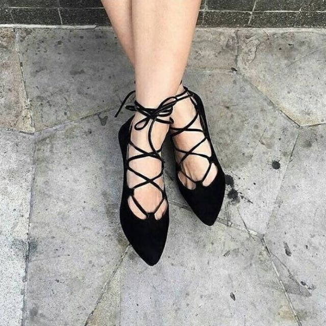 Ballerina Flat Shoes (with box)