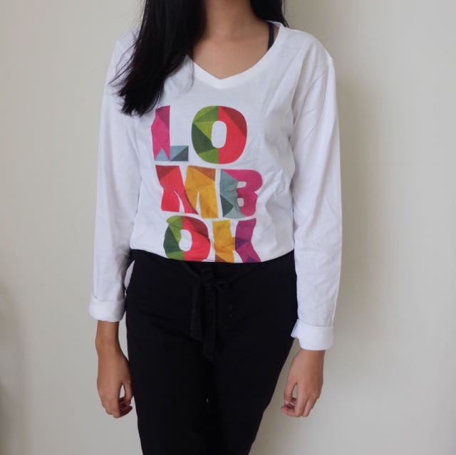 Basic White Lombok Top