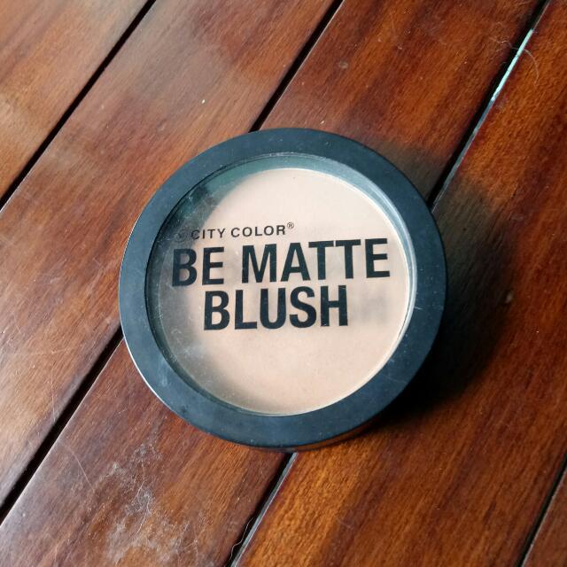 Be Matte Blush City Color