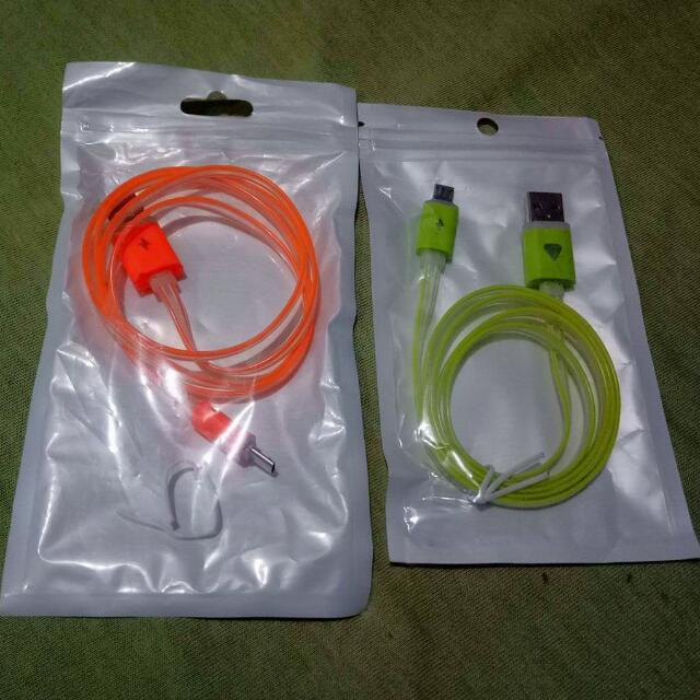 Bundle Android Cable Lightning Charger