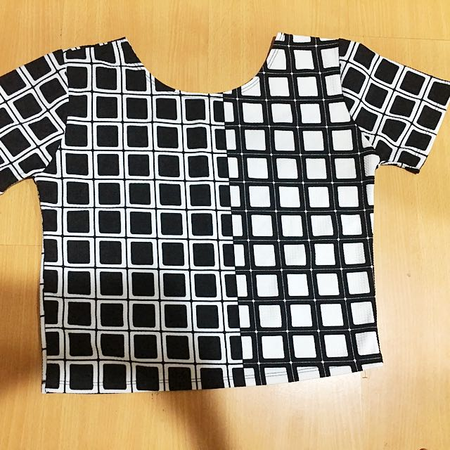 Checkerboard Style Shirt