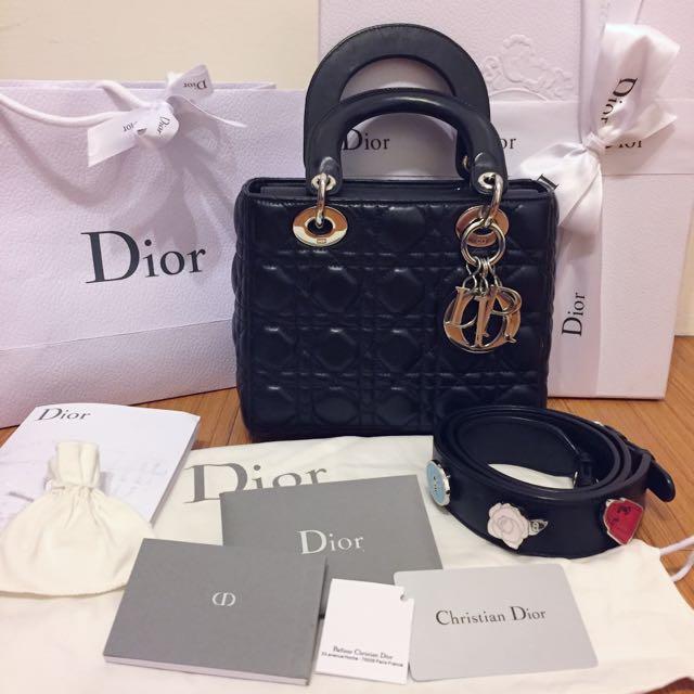 Christian Dior my lady dior bag 新款天菜懂的來