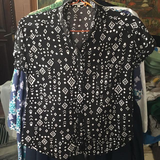 COLORBOX pattern shirt