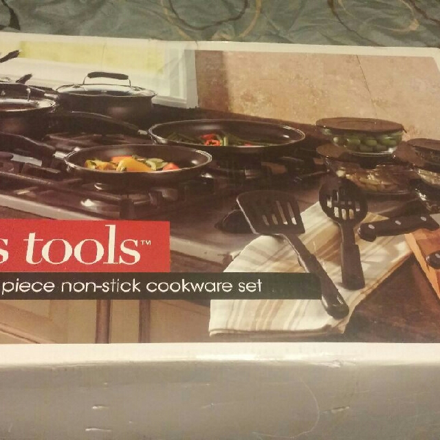 Cooks tools cookware set 19 Pc