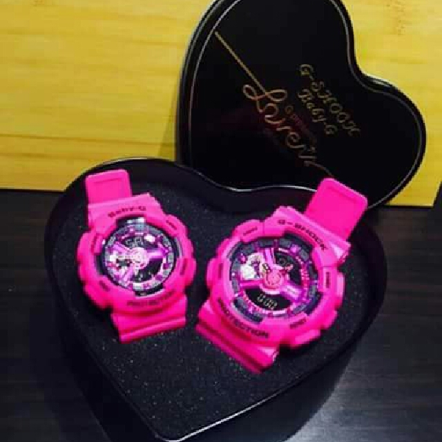 Couple Watch G-shack