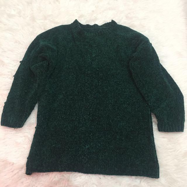 Dark Green Sweater