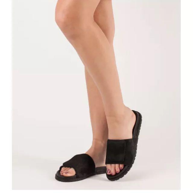 Derek Lam 10 Crosby Spence Slide Sandals - Size 7