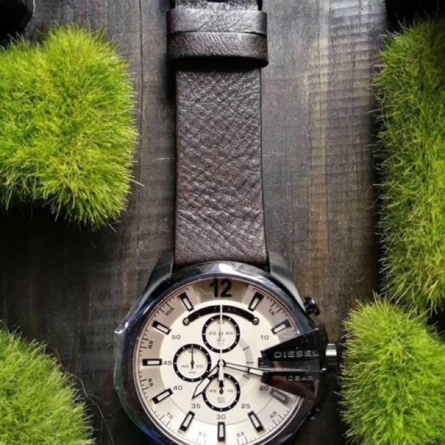 Diesel Leather Watch