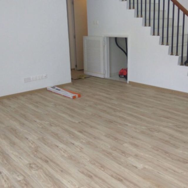 Direct floor wall tiling, vinyl tiles