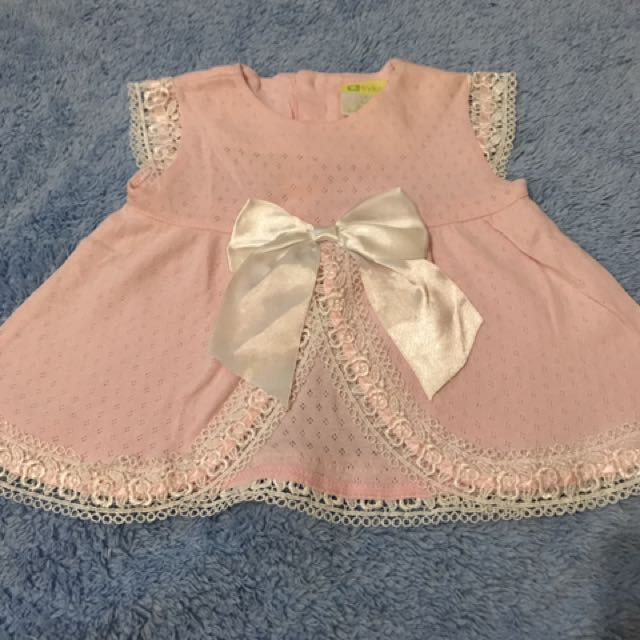 Dress Baby Eyka Pink