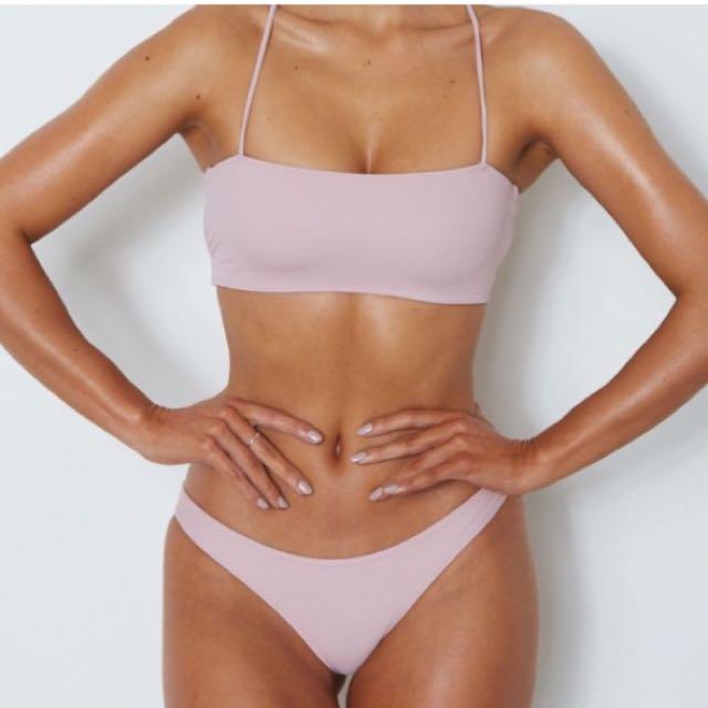Dusty Pink Bikini Set