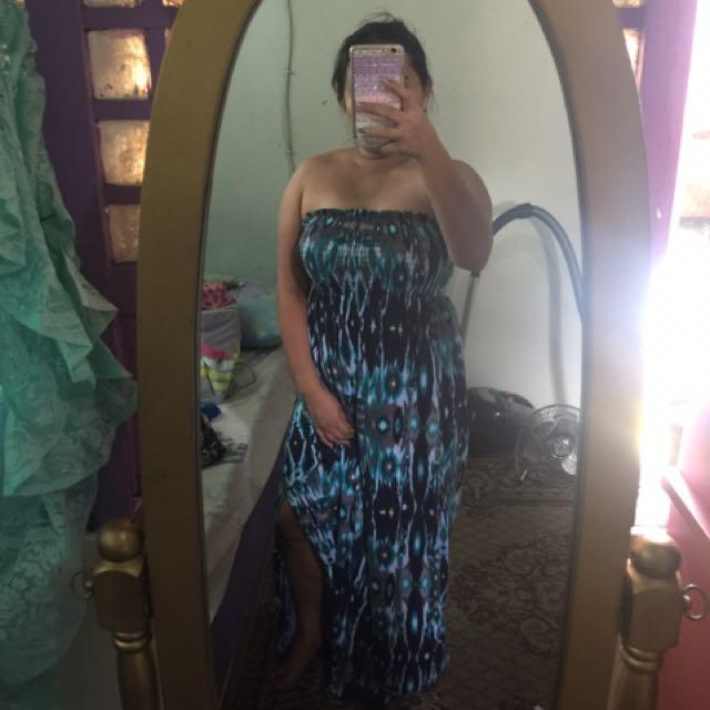 Faded glory and old navy maxi dress freesize