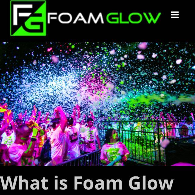 Foam Glow 5k in Toronto