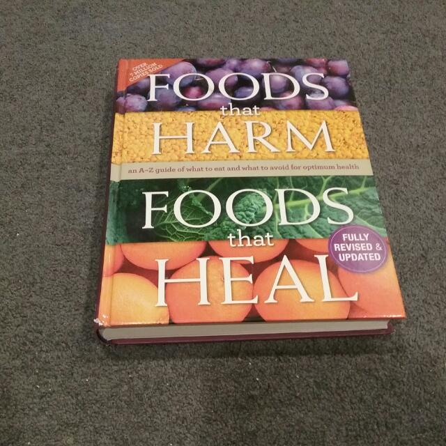 Foods That Harm And Heal Book