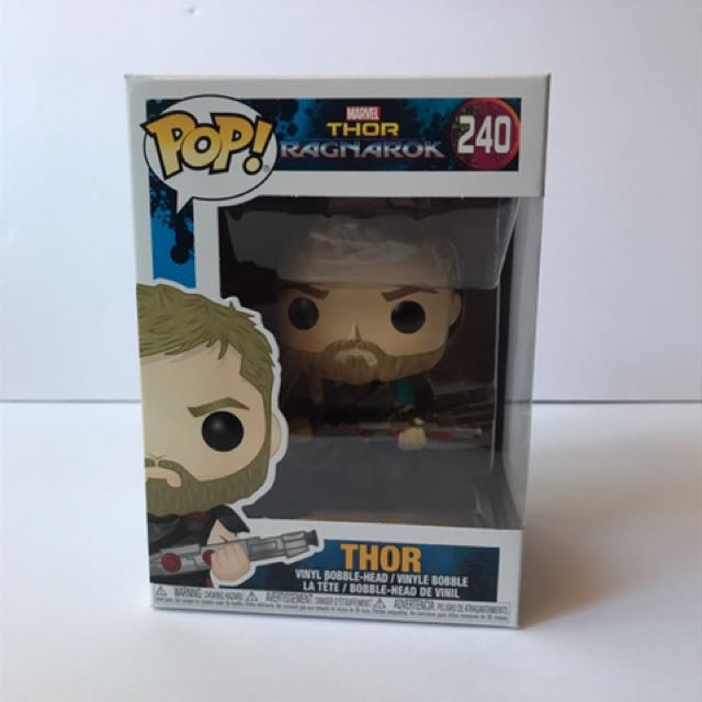 Funko pop marvel Thor ragnarok Thor  vinyl action figure
