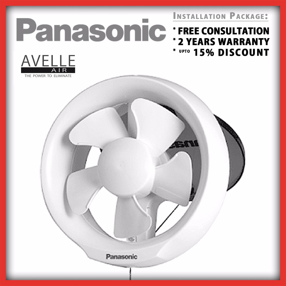 Fv 20wu4 Ndp Promotion Window Vent Fan Installation Package 2 Wiring A Bathroom Exhaust Quotes Yrs Warranty 15 Discount Home Services Renovations On Carousell
