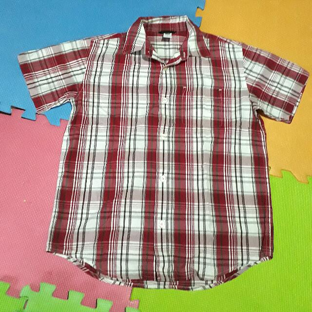 Gap Red Polo Shirt Preloved Large For Boys