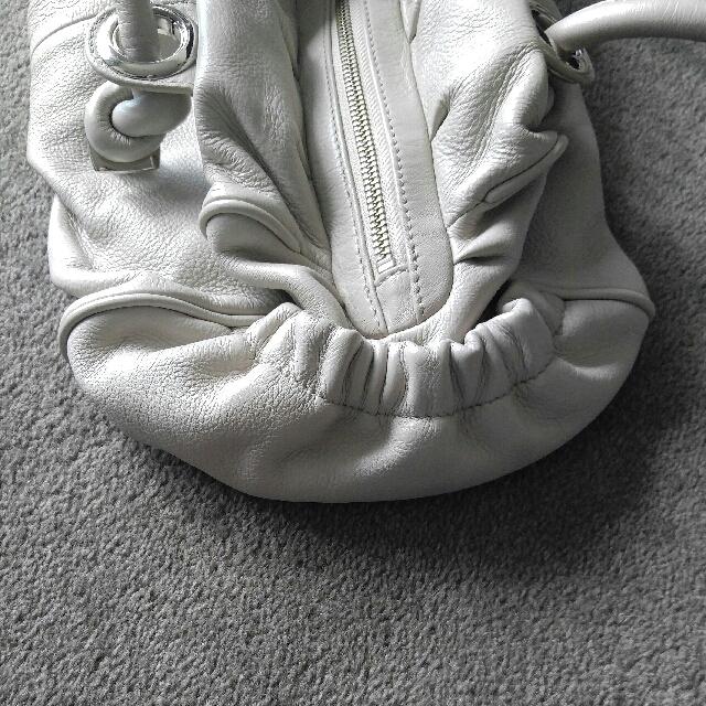 Genuine Oroton Beige/off White Leather Bag