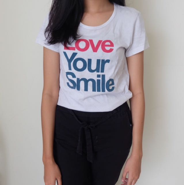 Giordano Love Your Smile Top
