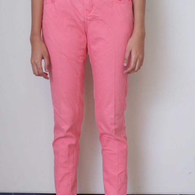 Giordano Pink Jeans