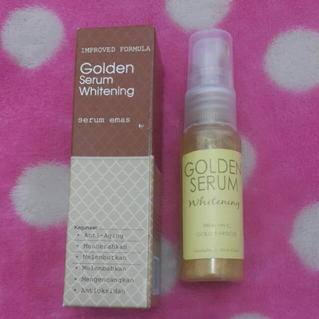 Golden Serum Whitening