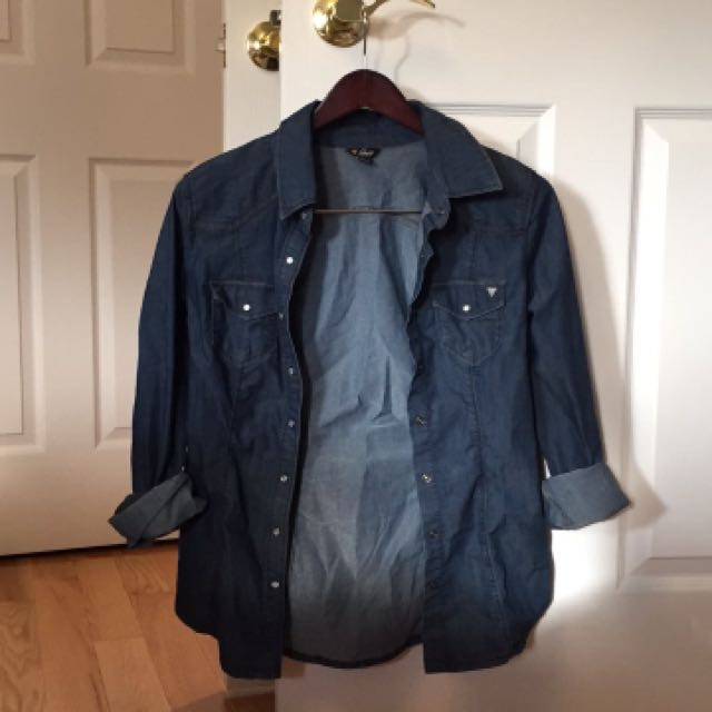 GUESS denim shirt (M)