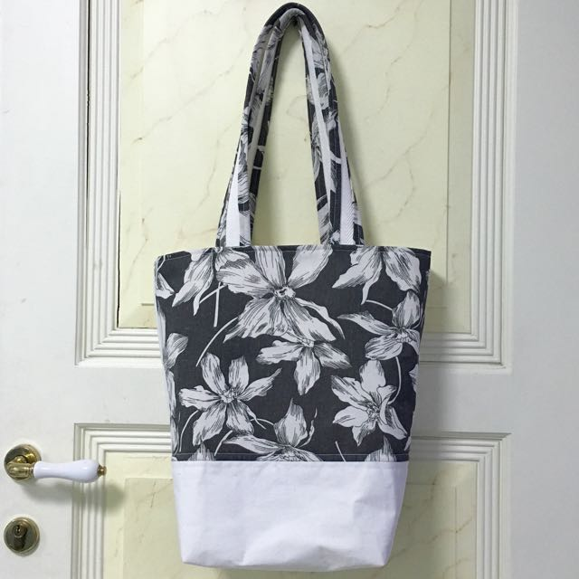Handmade Reversible Tote Bag (2 Bags in 1)