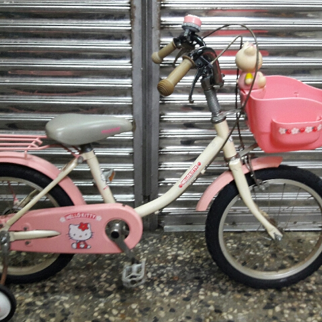 Hello Kitty 16吋兒童腳踏車 兒童車