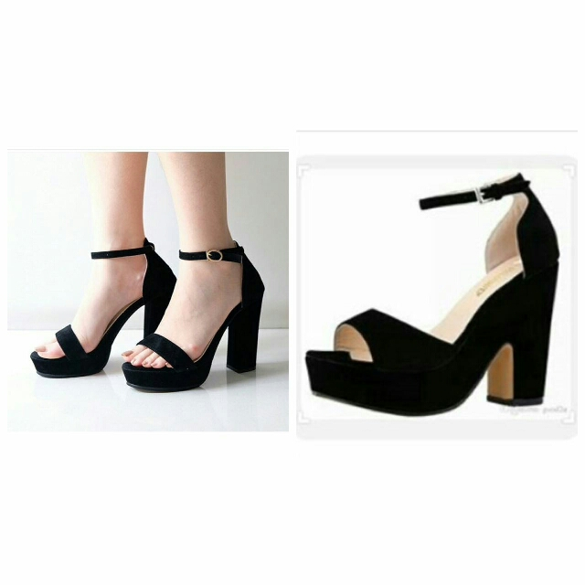 High Heels Wanita Murah HMD04BK