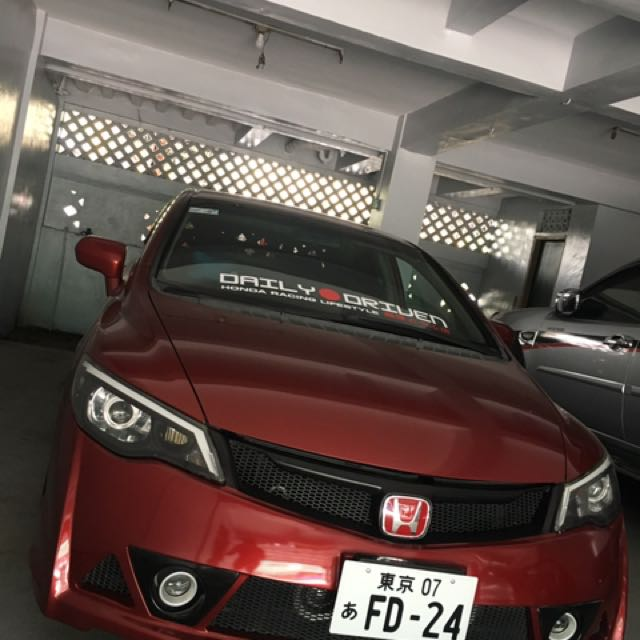 Honda Civic 2007 A/T (for sale/swap to manual)