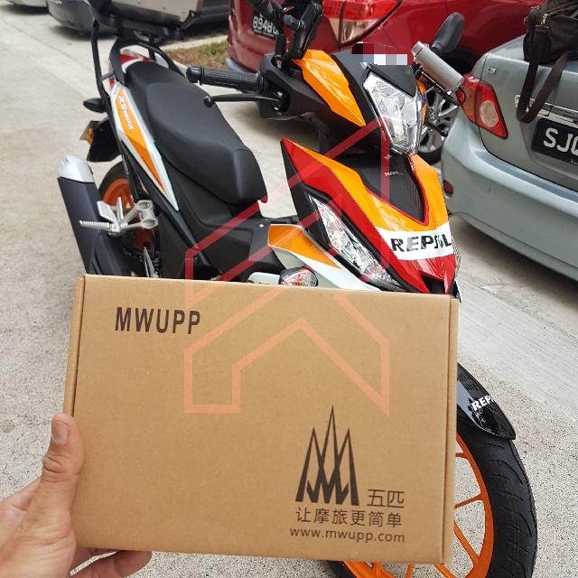 HONDA RS150R-MWUPP XGRIP HANDPHONE HOLDER (MIRROR MOUNT