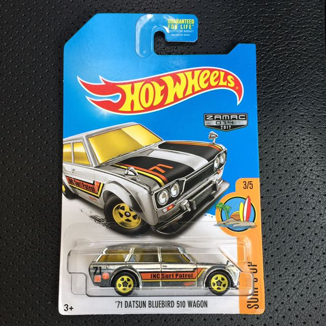 Hot Wheels Datsun Bluebird 510 Wagon Zamac