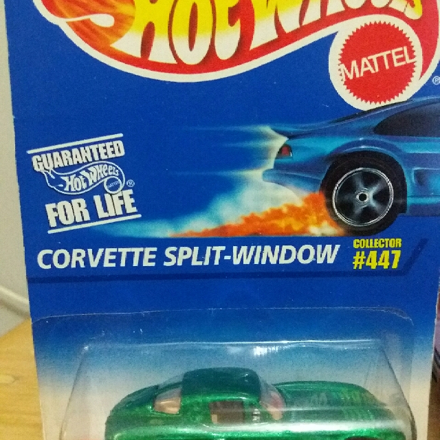 Hotwheels Corvette Split-window. #jualmainan