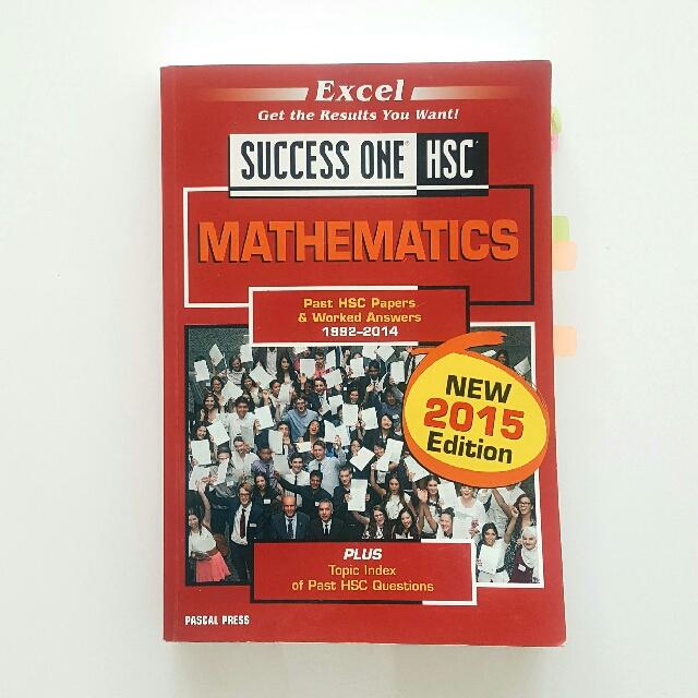 HSC Maths 2U Success One