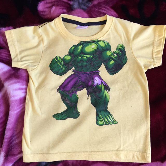 Hulk tee size 4