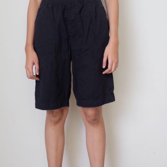 Hush Puppies Black Shorts