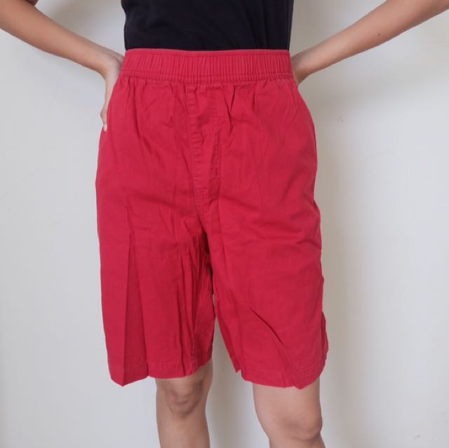 Hush Puppies Red Shorts